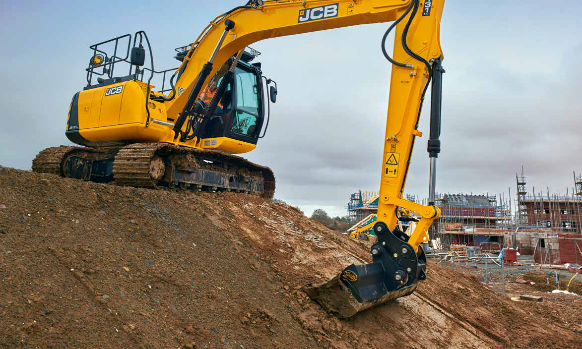 Js131 Tier 4 Final Compliant Tracked Excavator From Jcb