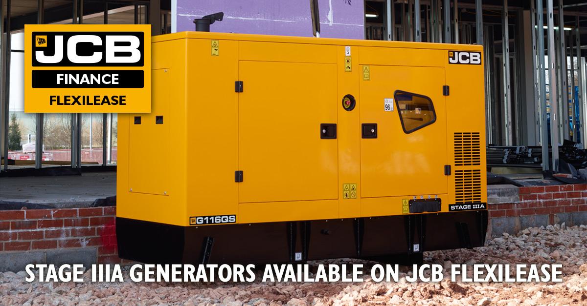 JCB Generators from £39 per week