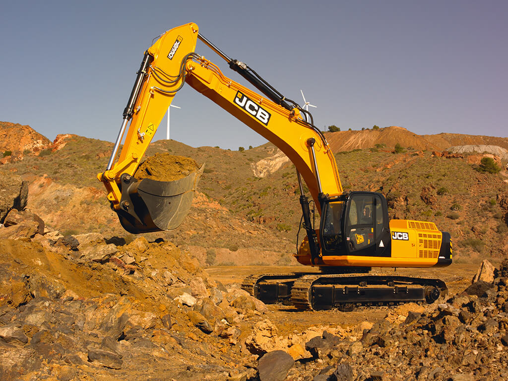 Greenshields Jcb - Jcb Js330 Large Tracked Excavator