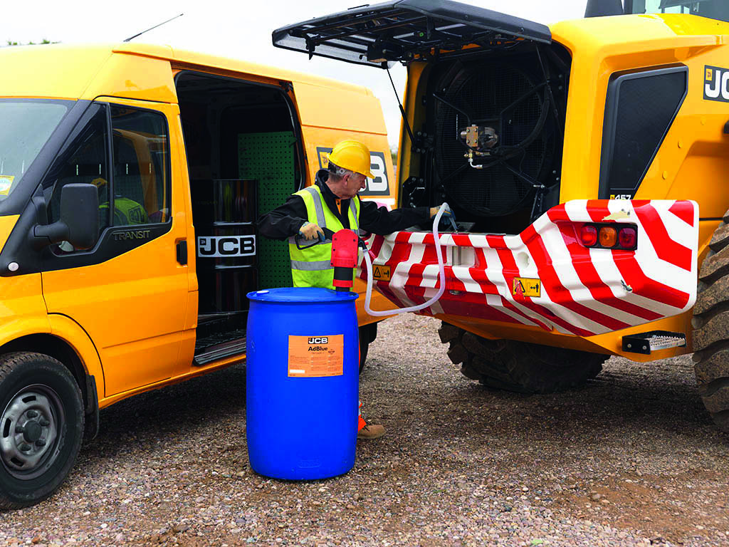 Greenshields JCB guide to AdBlue
