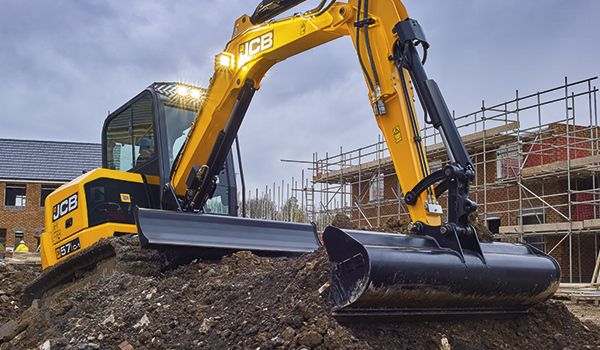 JCB 4-6 tonne mini excavators