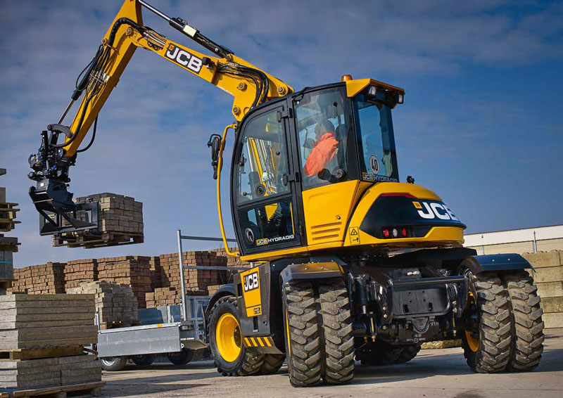 Hydradig 110w Wheeled Excavator Greenshields Jcb