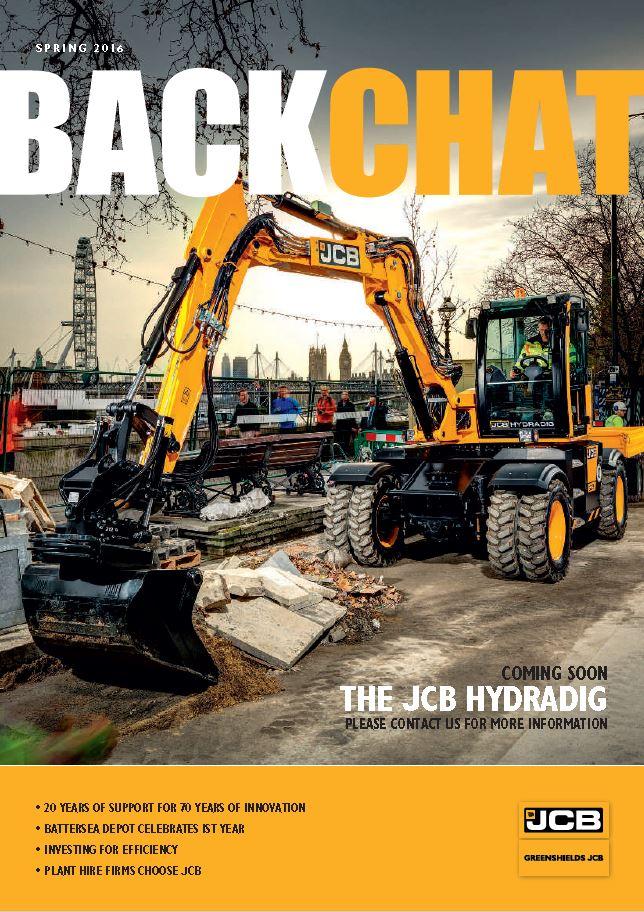 Greenshields JCB Backchat Spring 2016