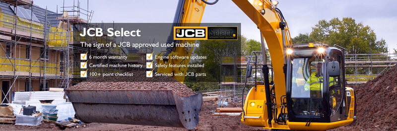 Approved Used Machinery scheme now launched | Greenshields JCB