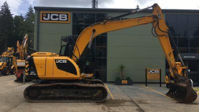 JCB Tracked Excavator JS145-thumb
