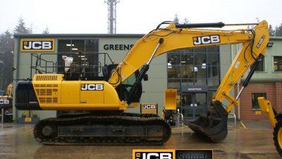 JCB Tracked Excavator JS370-thumb