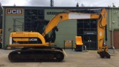 JCB Tracked Excavator JS160-thumb