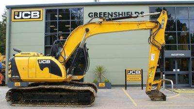 JCB Tracked Excavator JS130LC-thumb