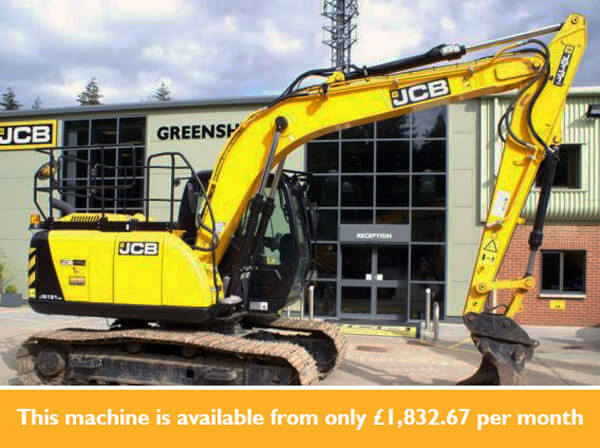 0% Interest Hire Purchase available on JCB Select machines