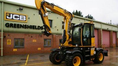 JCB Compact Wheeled Excavator HYDRADIG-thumb