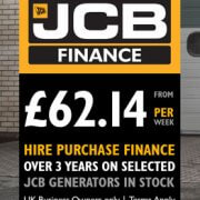 Own a JCB Generator