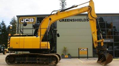 JCB Tracked Excavator JCB JS130 LC Plus-thumb