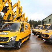 Greenshields JCB Dig Mercedes Benz New Vans