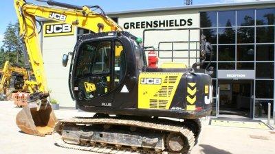 JCB Tracked Excavator JS131 LC Plus-thumb