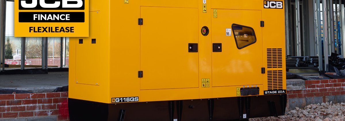 JCB Generators from £39 per week
