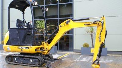 JCB Mini / Midi Excavators 8018-thumb