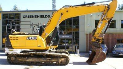 JCB Tracked Excavator JS220 LC-thumb