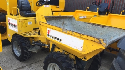 NC ENGINEERING Wheeled Site Dumpers HT 1.0-thumb