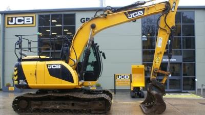 JCB Tracked Excavator JCB JS145LC-thumb