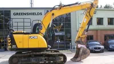 JCB Tracked Excavator JCB JS131LC-thumb
