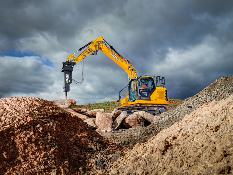 x-series excavator dig day