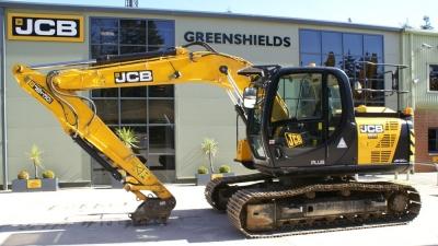 JCB Tracked Excavator JCB JS130LC-thumb