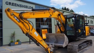 JCB Tracked Excavator JS131LC-thumb