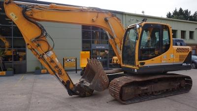 HYUNDAI Tracked Excavators R 140 LC-9A-thumb