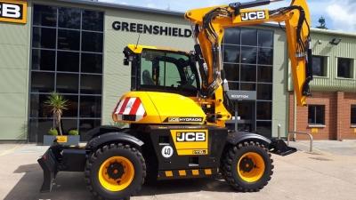 JCB Compact Wheeled Excavator Hydradig 110W. 40 kph. (£POA)-thumb