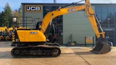 JCB Tracked Excavator JCB 131 – Ex 2018 Demo-thumb