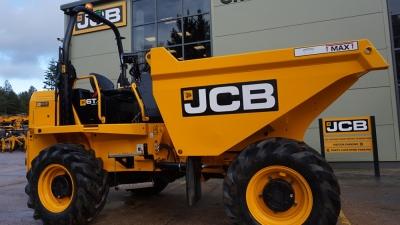 JCB Site Dumper 6T Front Tip-thumb