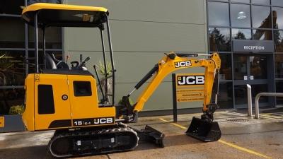 JCB Mini / Midi Excavators 15C-1 Canopy-thumb