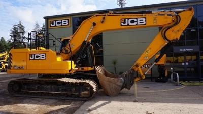 JCB Tracked Excavator 220X LC-thumb