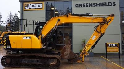 JCB Tracked Excavator JS145 LC-thumb